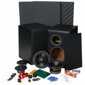 "Dayton Audio BR-1 6-1/2"" 2-Way Bookshelf Monitor Speaker Kit"