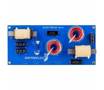 Dayton Audio XO3W-700/5.6K 3-Way Speaker Crossover 700/5,600 Hz