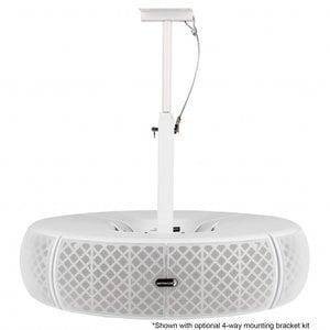 Dayton Audio QS204W-4 Quadrant 70V / 100V Indoor/Outdoor Speaker Pair