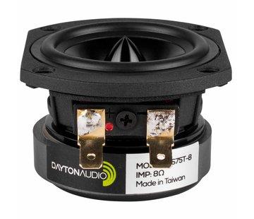 """Dayton Audio RS75T-8 3"""" Reference Full-Range Driver Truncated Frame"""