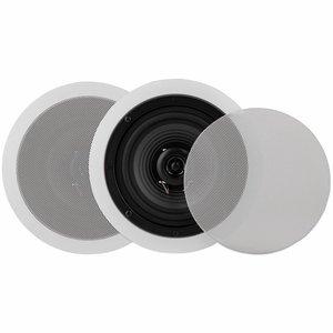 "Dayton Audio CS620CT 6-1/2"" 2-Way 70V Ceiling Speaker Pair"