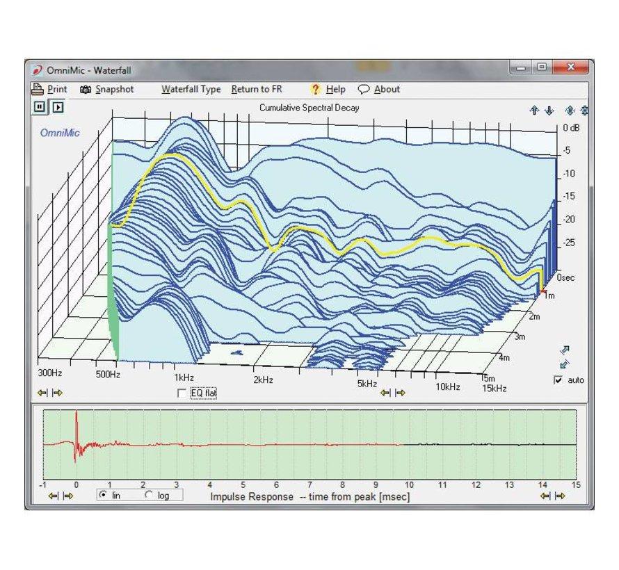 OmniMic V2 Computer Based Precision Room Measurement System