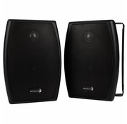 "Dayton Audio IO525B 5-1/4"" 2-Way Indoor/Outdoor Speaker Pair Black"