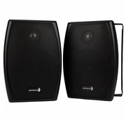"Dayton Audio IO525BT 5-1/4"" 2-Way 70V Indoor/Outdoor Speaker Pair Black"