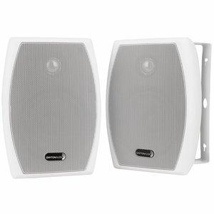 "Dayton Audio IO525W 5-1/4"" 2-Way Indoor/Outdoor Speaker Pair White"