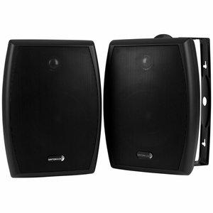 "Dayton Audio IO655BT 6-1/2"" 2-Way 70V Indoor/Outdoor Speaker Pair Black"