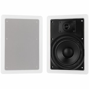 "Dayton Audio CS620W 6-1/2"" 2-Way In-Wall Speaker Pair"