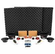 Dayton Audio BR-1 Kit Components w/o Cabinet