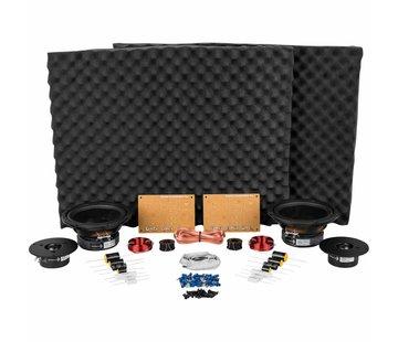 Dayton Audio BR-1 Kit Components w/o Cabinet