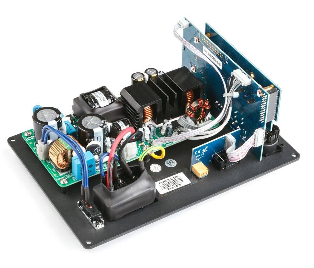 miniDSP PWR-ICE125 2x125 Watt DSP ICEpower Plate Amplifier