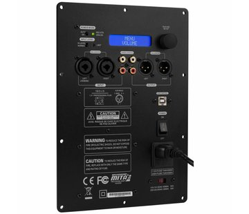 Dayton Audio SPA500DSP Subwoofer Plaatversterker