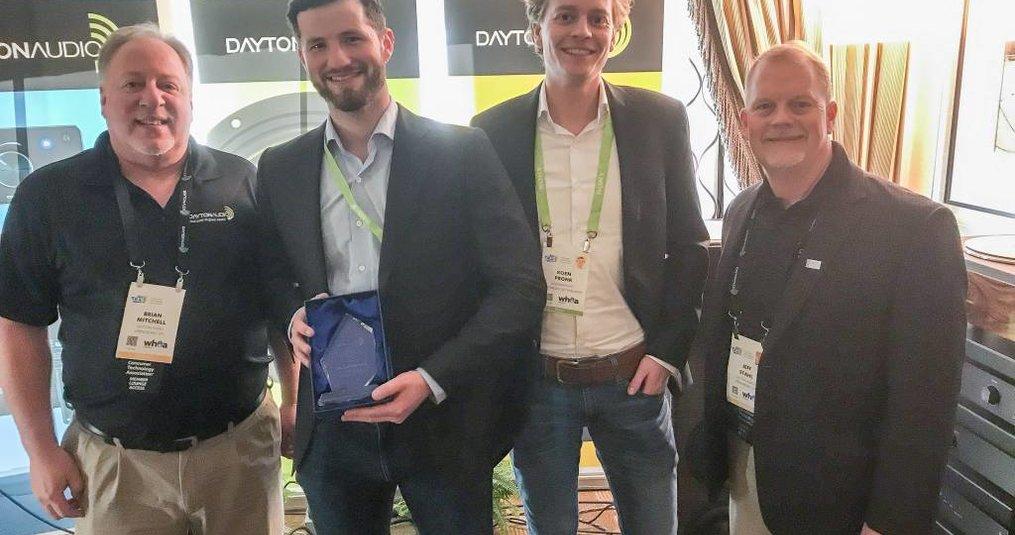 Dayton Audio Distributor of the Year 2017