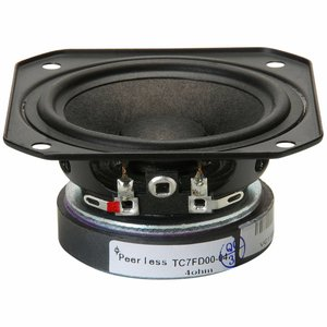 """Peerless by Tymphany TC7FD00-04 2-1/2"""" Full Range Paper Cone Woofer"""