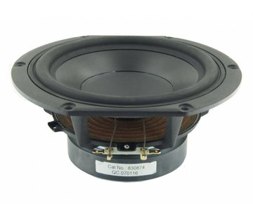 """Peerless by Tymphany HDS-P830874 6-1/2"""" PPB Cone HDS Woofer"""