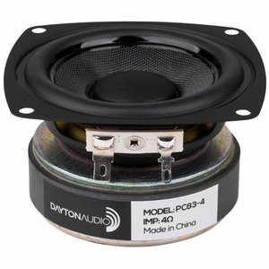 "Dayton Audio PC83-4 3"" Full-Range Poly Cone Driver"