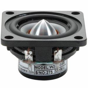 """Tang Band W2-803SM 2"""" Extended Range Speaker Driver"""