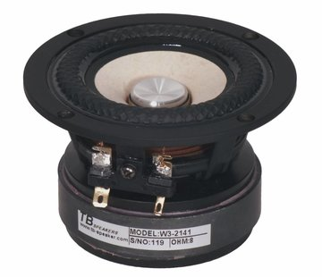 "Tang Band W3-2141 3-1/2"" Paper Cone Full Range Driver 8 Ohm"