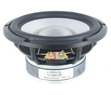 """Seas Prestige L16RN-SL - H1480 5"""" Aluminum Cone Woofer"""