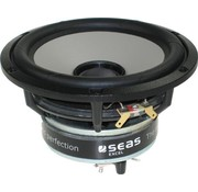 "Seas Excel C16N001/F - E0051-04/06-6 5"" Magnesium Cone Coaxial Woofer"