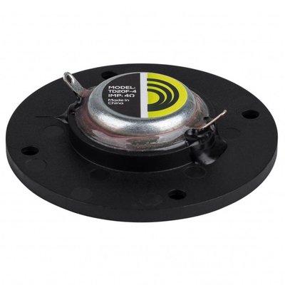 "Dayton Audio TD20F-4 3/4"" Soft Dome Neodymium Tweeter 4 Ohm"