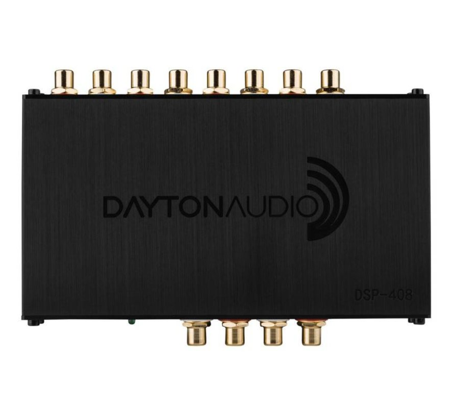 DSP-408 4x8 DSP Digital Signal Processor for Home and Car Audio