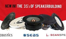 #16 The 3 S's of Speakerbuilding: Scan-Speak, SB Acoustics en SEAS!
