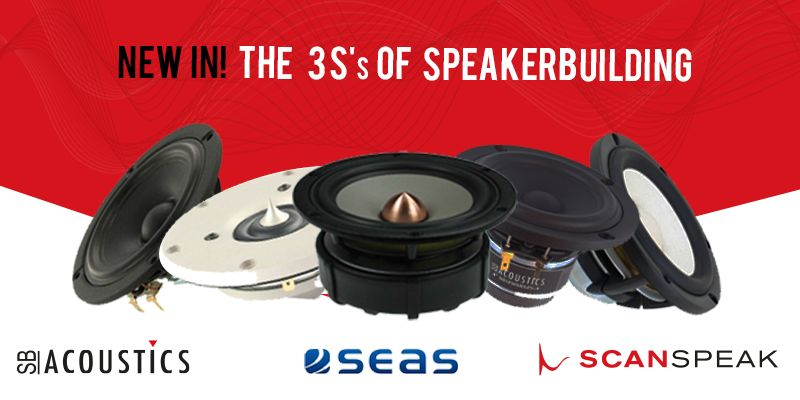 #16 The 3 S's of Speakerbuilding: Scan-Speak, SB Acoustics and SEAS!