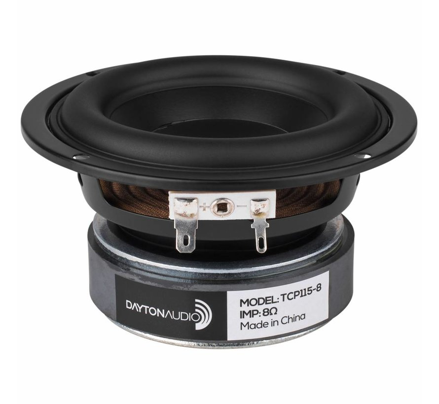 """TCP115-8 4"""" Treated Paper Cone Woofer"""