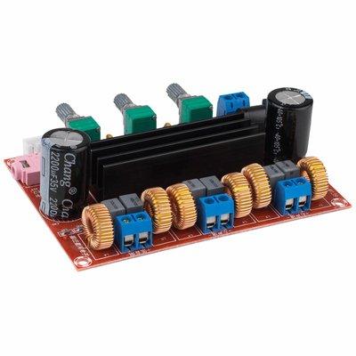 2 x 50W + 100W Class D 2.1 Amplifier Board with Volume Controls - TPA3116D2