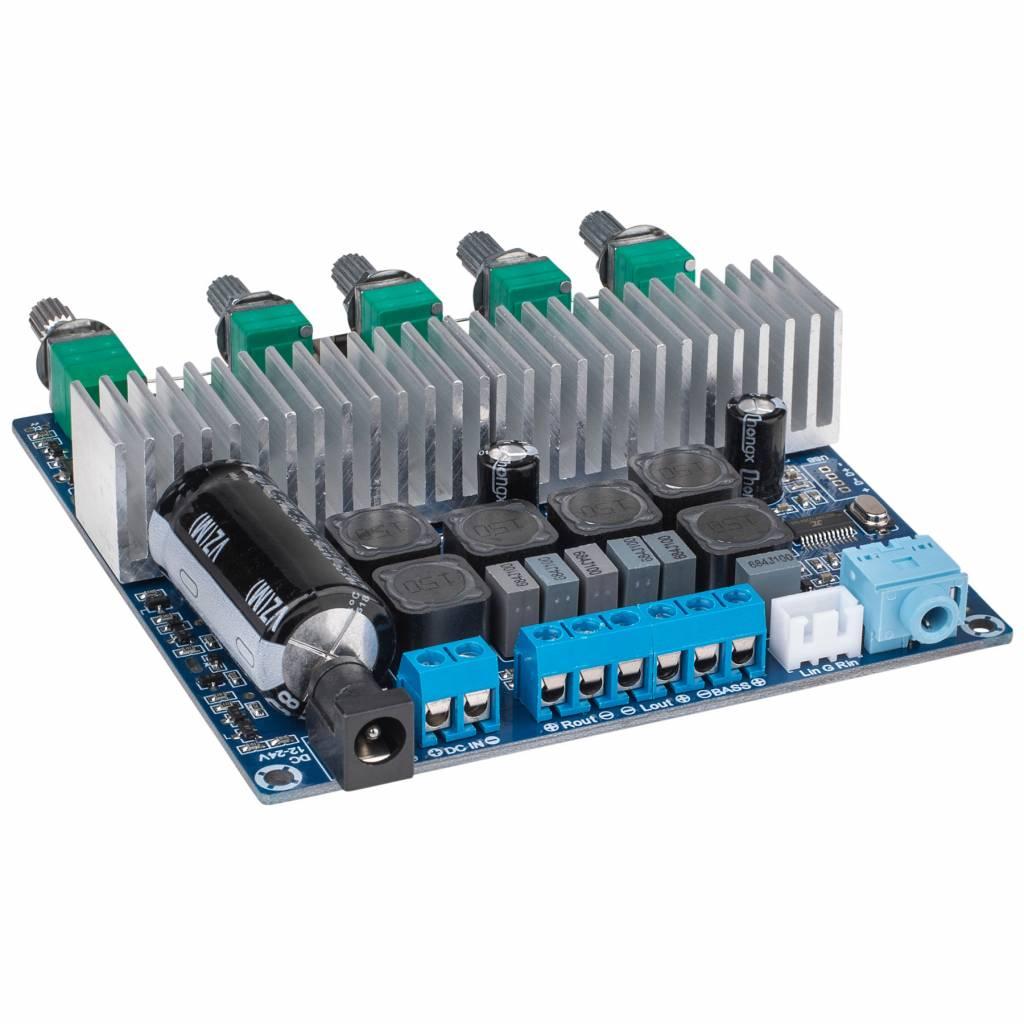 2 x 50W + 100W Class D 2 1 Bluetooth 4 0 Amplifier Board
