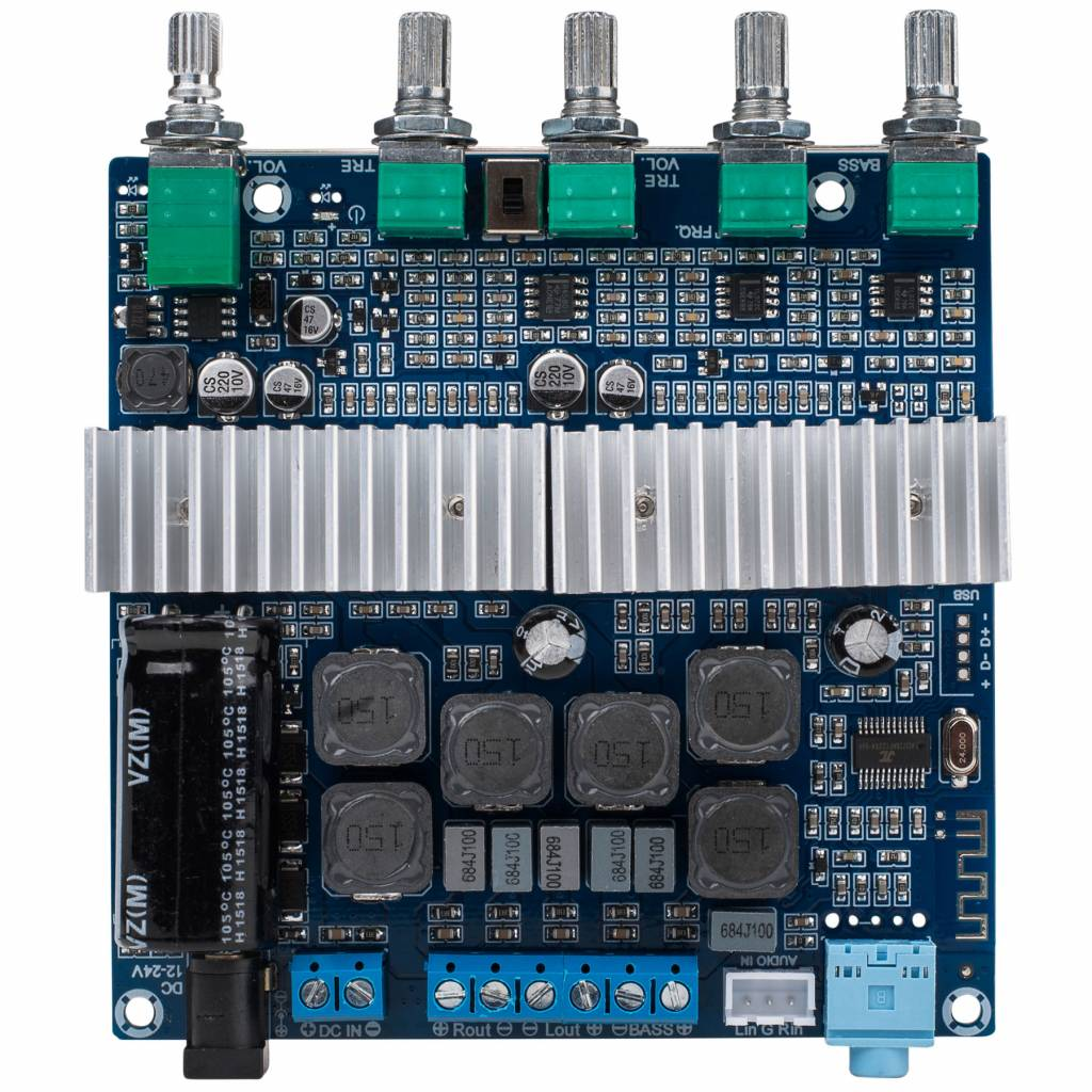 2 X 50w 100w Class D 21 Bluetooth 40 Amplifier Board With Filter Circuit Quality For Sale And Volume Controls