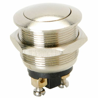 Momentary N.O. Metal Dome Push Button Switch