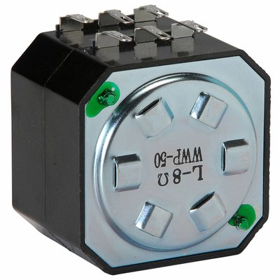 """Speaker L-Pad Attenuator 50W Stereo 1"""" Shaft 8 Ohm"""