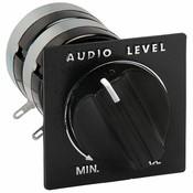 """Speaker L-Pad Attenuator 15W Stereo 1"""" Shaft 8 Ohm"""