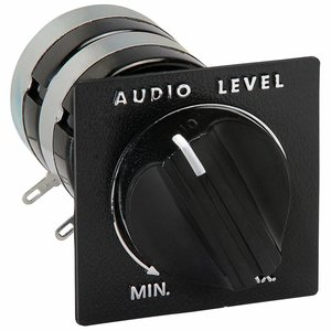 "Speaker L-Pad Attenuator 15W Stereo 1"" Shaft 8 Ohm"