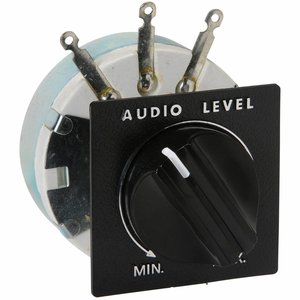 "Speaker L-Pad Attenuator 100W Mono 1"" Shaft 8 Ohm"