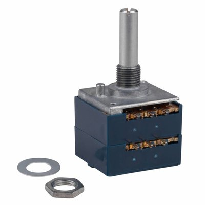 Audio Taper Stereo Potentiometer 1/4'' Shaft