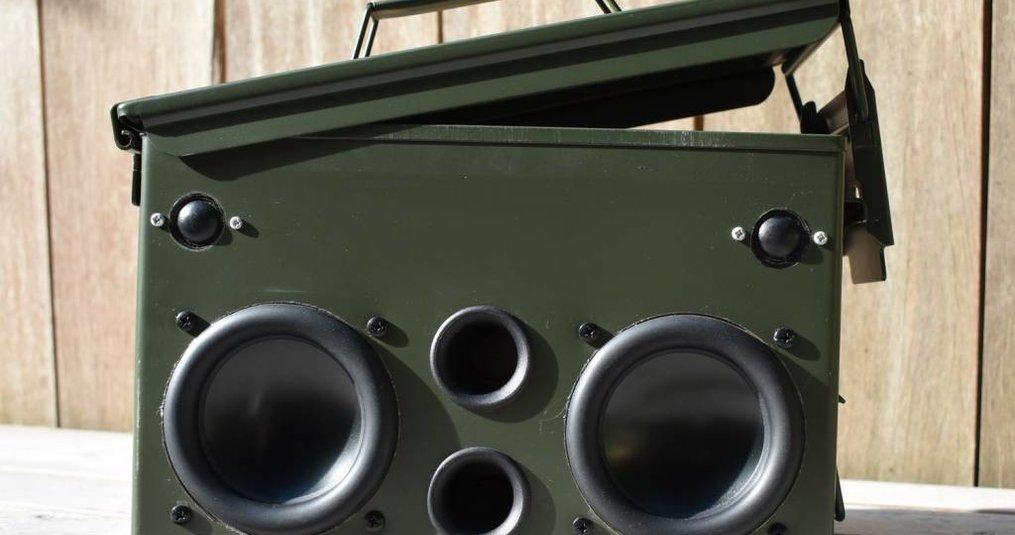 Ammo-Can Lautsprecher
