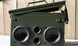 #17 DIY Project: Ammo-Can Speaker
