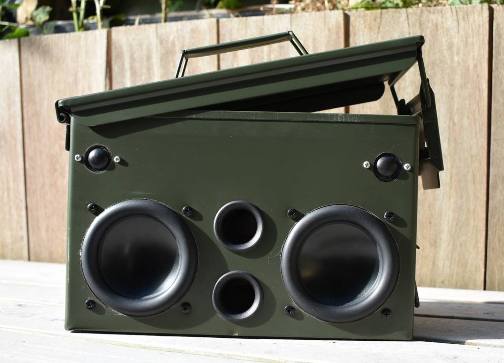 #17 DIY Project: Ammo Can Speaker
