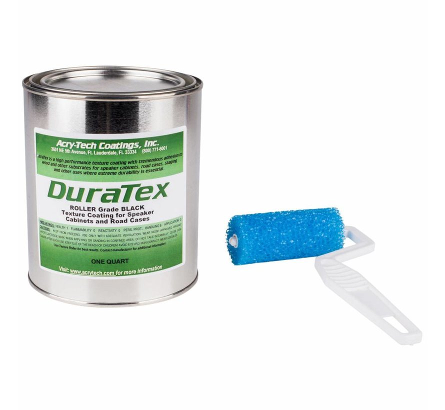 DuraTex Roller Grade 1kg Speaker Cabinet Coating Kit
