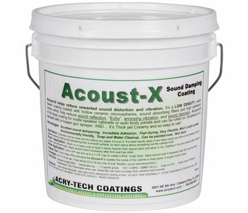 Acry-Tech Acoust-X Sound Damping Coating