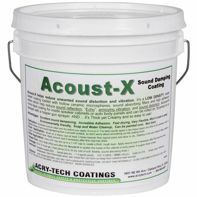 Acry-Tech Acoust-X 3,3kg Absorption Coating Paintable Damping Material