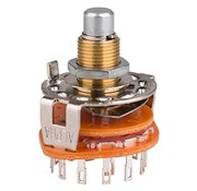 Rotary Switch 2 Pole 6 Position Shorting