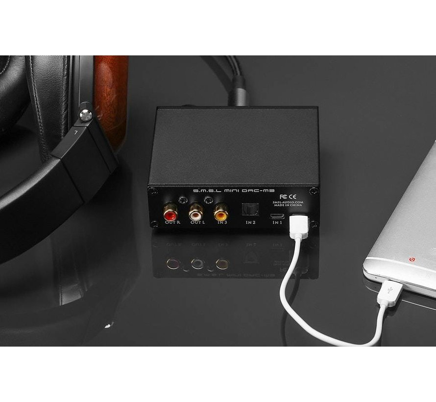 M3 USB DAC Amplifier - Your favorite one-stop-shop for DIY