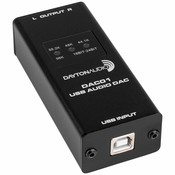 Dayton Audio  DAC01 USB Audio DAC 24-bit/96 kHz RCA Output
