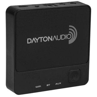 Dayton Audio WBA31 Wireless Wi-Fi & Bluetooth Audio Receiver with IR Remote