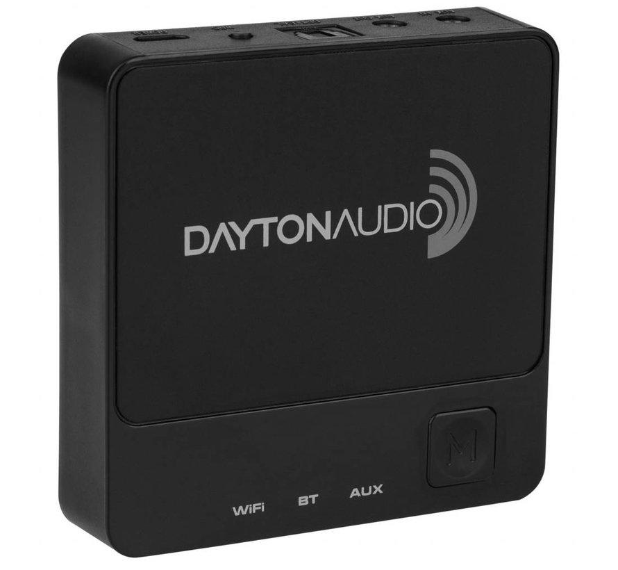 WBA31 Wireless Wi-Fi & Bluetooth Audio Receiver with IR Remote