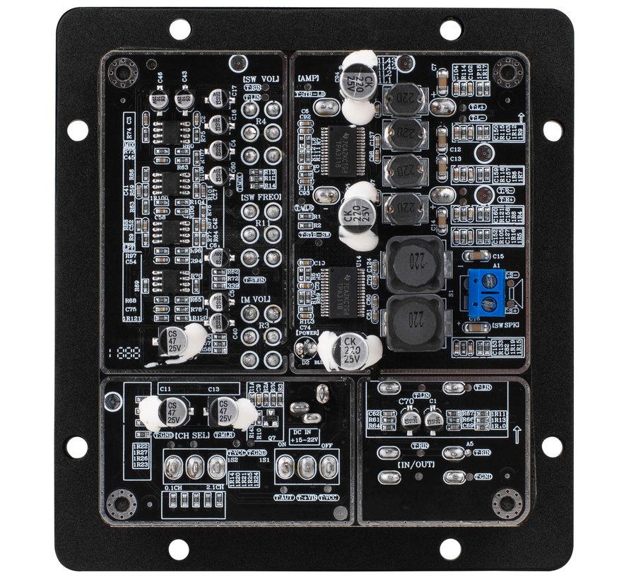 LP210PA 2x30W + 60W 2.1 Channel Mini Plate Amplifier TPA3118