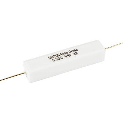 Dayton Audio 0.33 Ω | 10 W | 2% | Precision Audio Grade Resistor